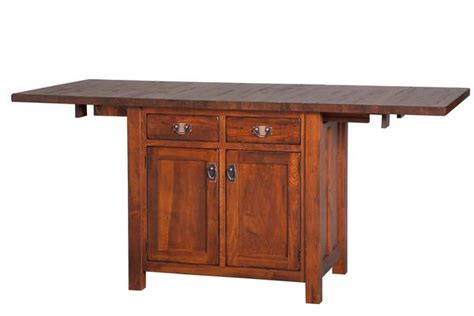 mission kitchen island mission kitchen island with extendable top from