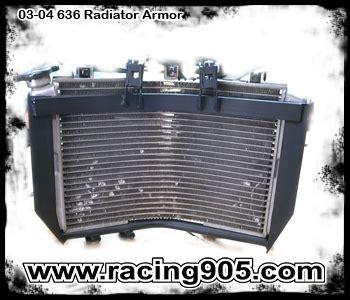 Kawasaki Zx636 Zx6r Rg Radiator Guard kawasaki zx636 zx6rr 2003 2004 radiator armor