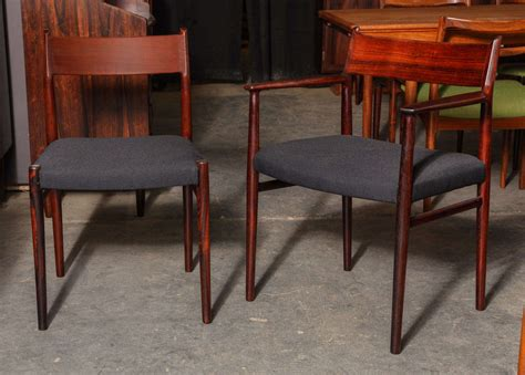 Rosewood Dining Room Furniture by Arne Vodder Rosewood Dining Room Chairs At 1stdibs