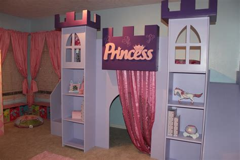 princess castle bed ana white
