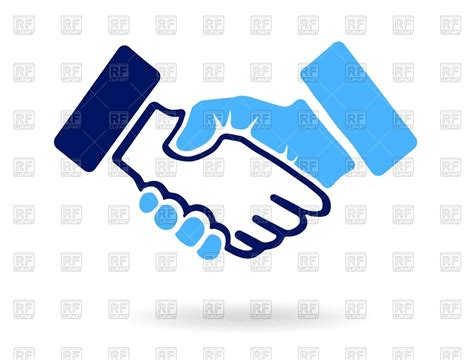 royalty free clipart images handshake icon royalty free vector clip image 73697