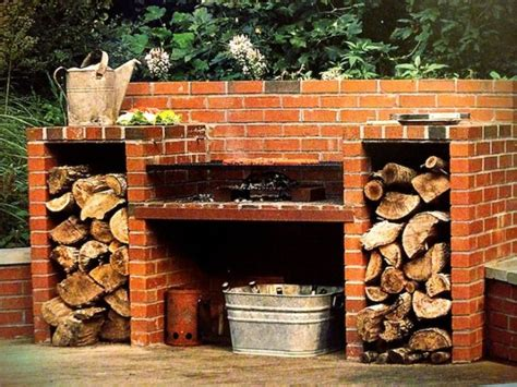 How To Build A Brick Barbecue For Your Backyard   iCreatived
