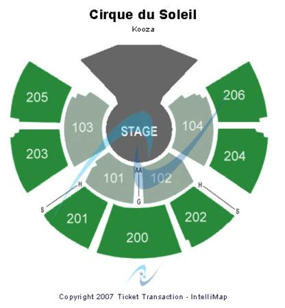 kurios san francisco seat map grand chapiteau at t park tickets in san francisco