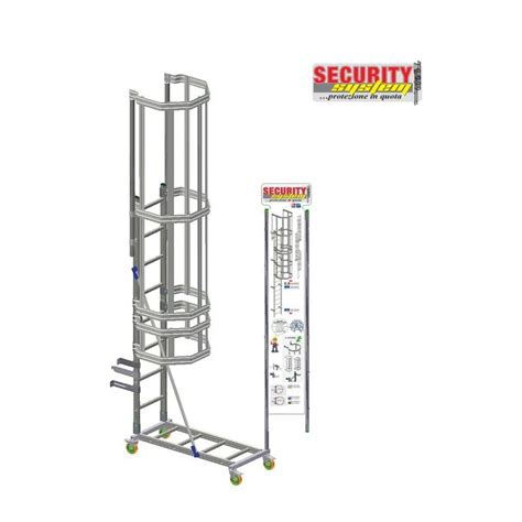 scala a gabbia espositore scala a gabbia vertical ladder security system