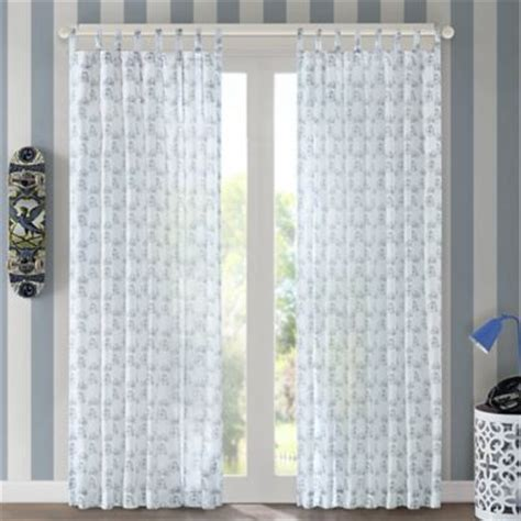tab top window curtains buy tab top curtains from bed bath beyond
