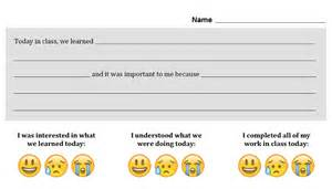 exit slip template pdf social media exit tickets innovating medium