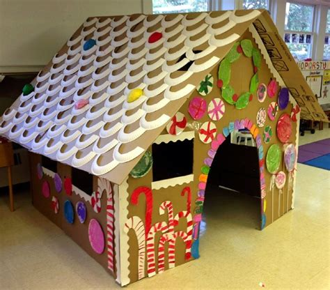ac craft projects diy gingerbread house just fab craft
