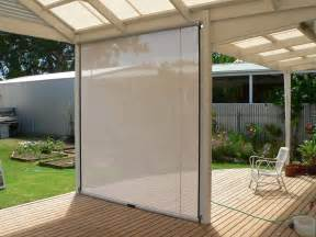 track guided outdoor blinds aussie pergolas