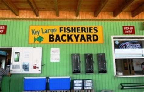 key largo fisheries backyard key largo fisheries backyard cafe