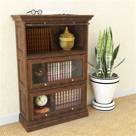 barrister bookcase leaded glass barrister bookcase ameriwood 4 shelf glass door barrister