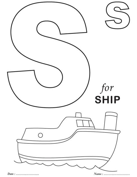 free alphabet preschool to k coloring pages