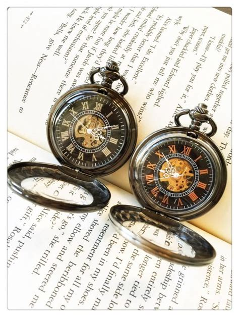 steunk pocket watch for him and her personalized pocket