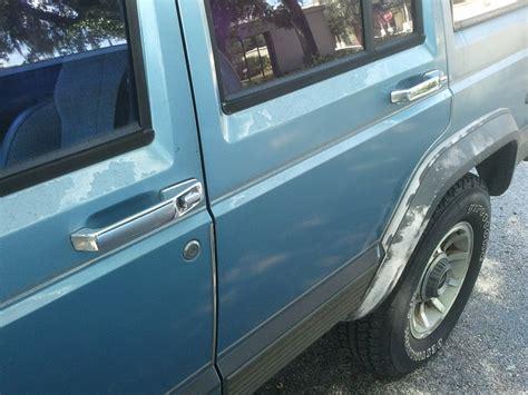 removing oxidation rust   cherokee jeep cherokee forum