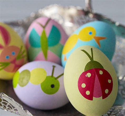 como decorar mis huevos ideas bonitas para decorar huevos de pascua urban mom
