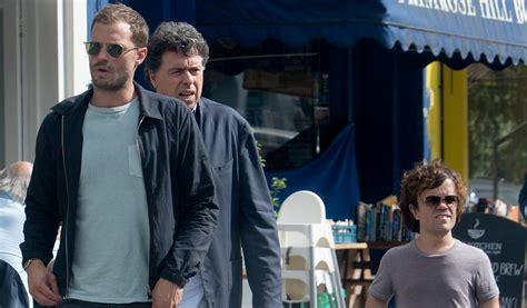 jamie dornan peter dinklage movie jamie dornan peter dinklage lunch in london with their