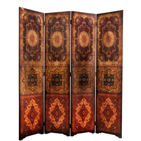 Decorative Folding Screens by 6 Ft Olde Worlde Baroque Room Divider Decorative Folding Screen
