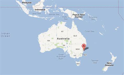 sidney australia map australia map sydney