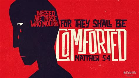 comforted means matthew 5 4