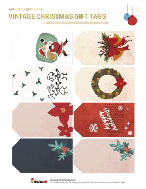 gift tags vintage clipart finders free printables and clip christmasowl