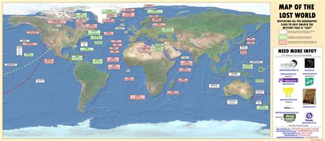 map of the world to show where you been lost tv show world map world mappery
