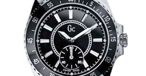 Gc Ceramic Gc035cs Black List Silver guess collection gc stainless steel