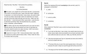parcc releases fully functional sle test questions for
