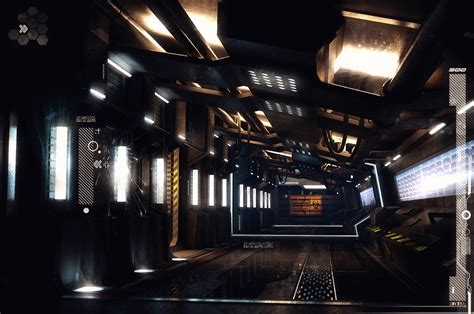 concept ships spaceships with interiors by encho enchev