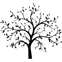 Tree Silhouette Wall Sticker Tree Decals Vinyl Trees Tree Silhouette Vinyl Tree