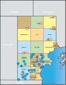 macomb city map macomb st clair learners