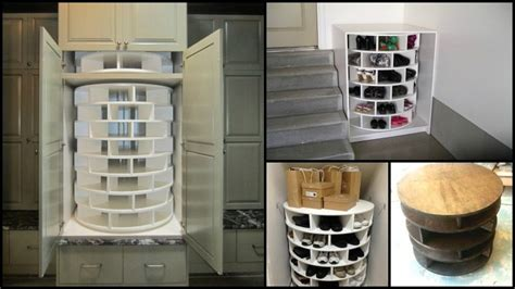 diy lazy susan shoe storage diy lazy susan shoe storage the owner builder network