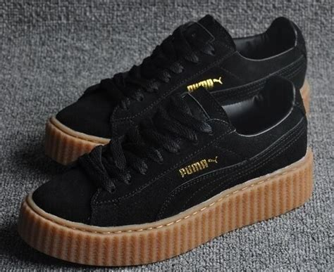 Premium Quality Fenty X Creepers By Rihanna Black Gum Sole 8 best x rihanna creeper images on rihanna creepers adidas shoes and adidas