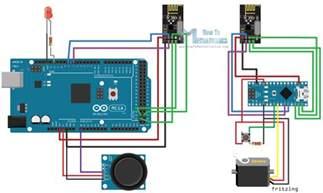 arduino wireless communication nrf24l01 circuit schematic tutorial maker motivation