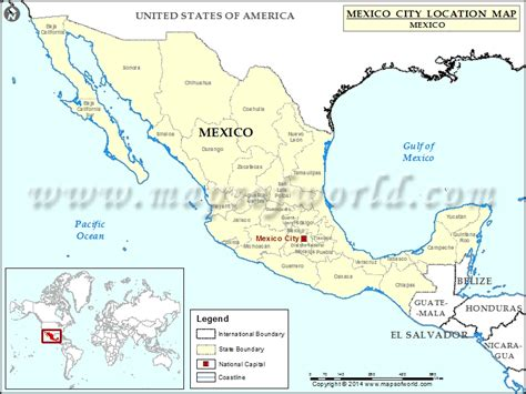 mexico city on the map where is mexico city location of mexico city in mexico map