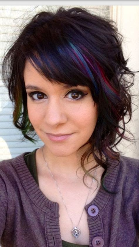 funky hair color ideas for older women 25 best ideas about curly asymmetrical bob on pinterest