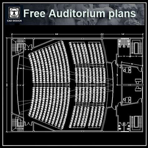 Best Floor Plan auditorium cad design free cad blocks drawings details