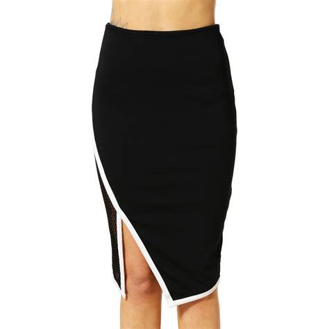 fierce line pencil skirt on luulla