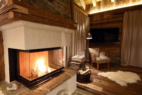romantische berghütte idee kamin h 252 tte