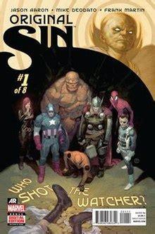 original sin finale del film original sin comics wikipedia