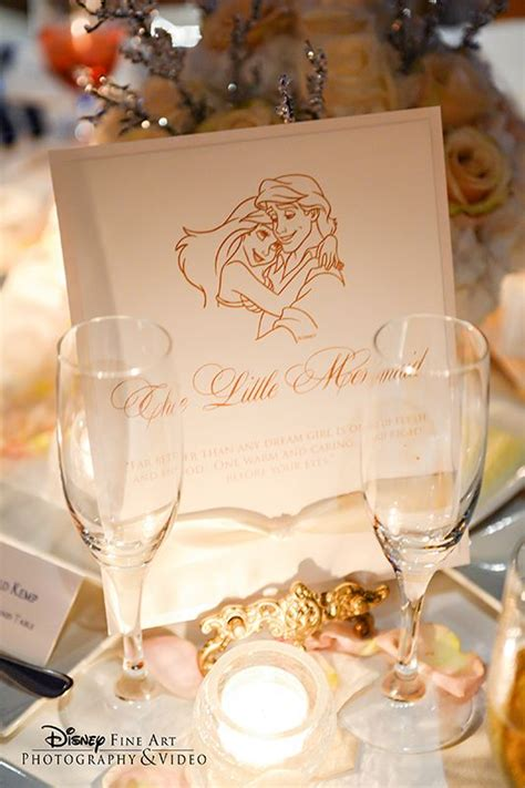 Disney Princess Wedding Card