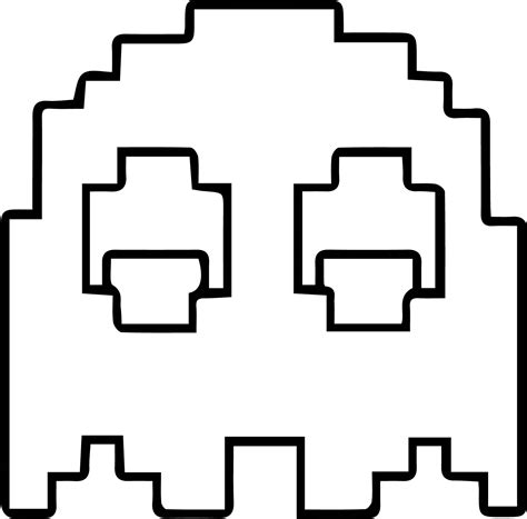 pac man free coloring pages on art coloring pages