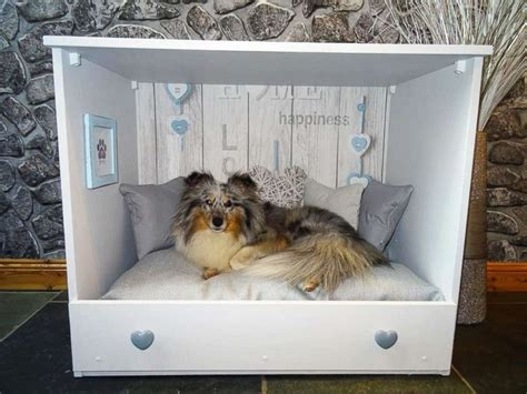 old dresser into dog bed woman turns old dressers into cozy personalized dog beds
