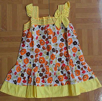 Dress Anak Bagus Putih Motif Bunga Dan Pita Lucu Kekinian Import baju bayi dan anak baju anak perempuan dress