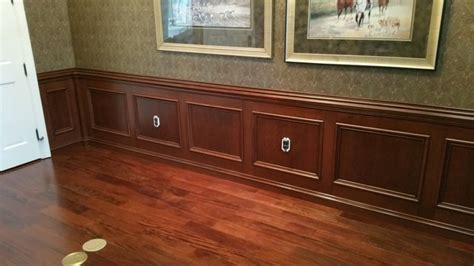 Home Decorators Free Shipping by Cherry Wainscot Paneling Modern Dining Room Orlando