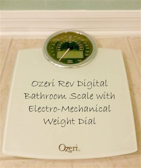 ozeri bathroom scale review ozeri rev scale review perfect for your bathroom