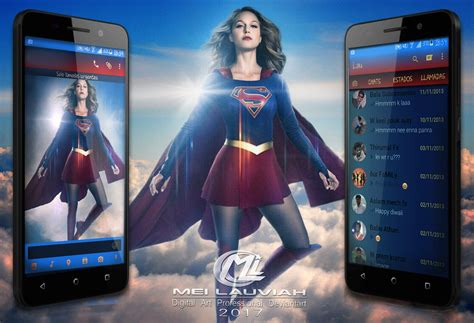 mobile themes of movies supergirl movie mobile themes by maryneim on deviantart