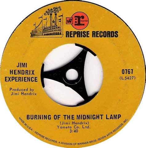 jimi hendrix burning of the midnight l 45cat jimi hendrix experience all along the watchtower