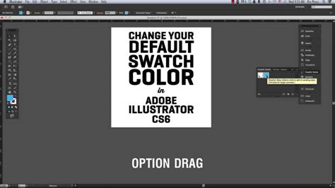 edit pattern color illustrator how to change the default swatch color in adobe