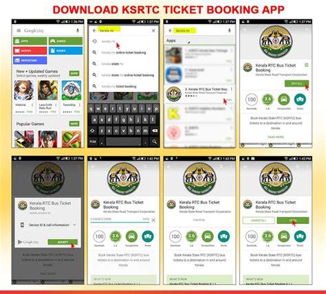 kerala ksrtc bus ticket booking official android app aanavandi travel blog