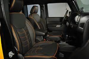 Jeep Wrangler Unlimited Leather Seats Custom Leather Interior Newsonair Org
