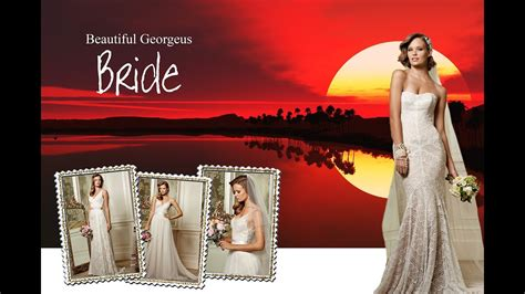 design cover page using photoshop design wedding album cover page in photoshop youtube